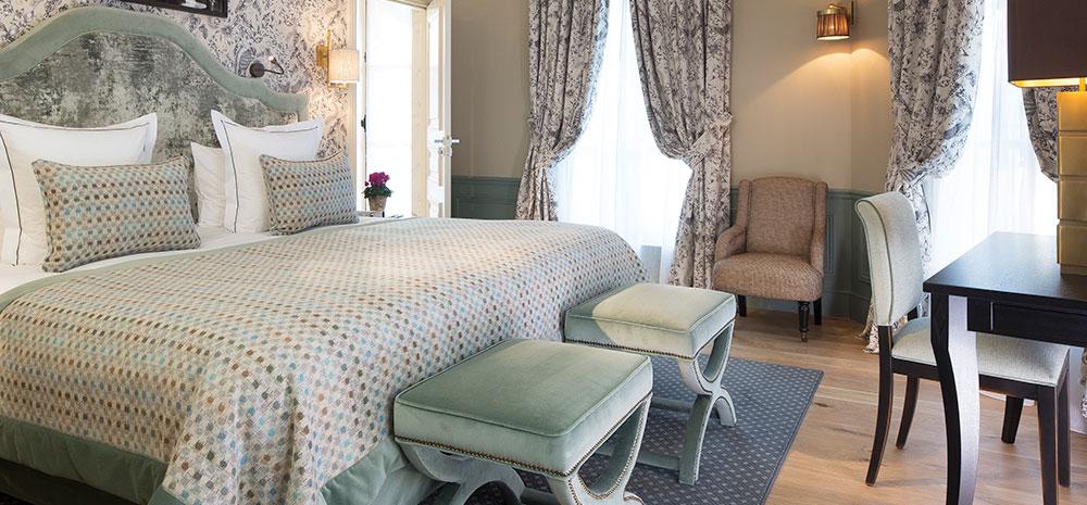 Novabress décoration textile hôtel Le Saint Paris